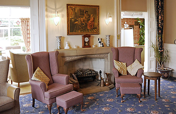 Culliford House residential home - Living-room