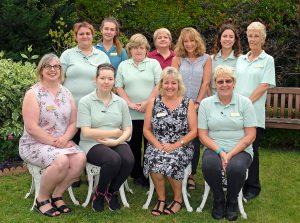 The team at Culliford House – residential care home