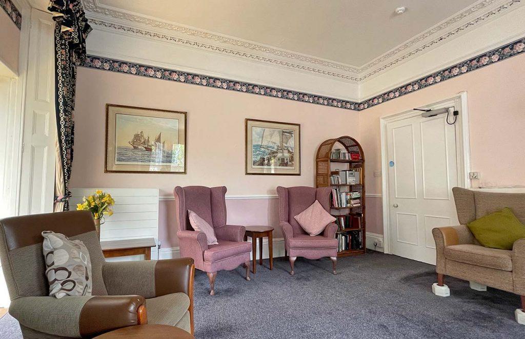 Culliford House residential home - Living-room